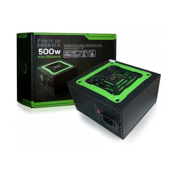 Fonte 500 wats reais ATX One Power