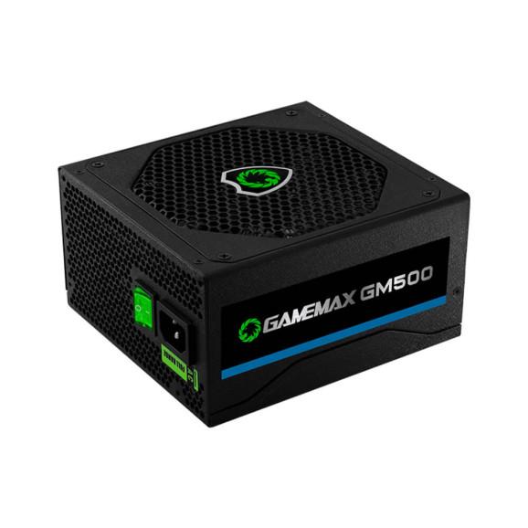 Fonte 500 Watts Reais ATX Gamemax GM500 80Plus