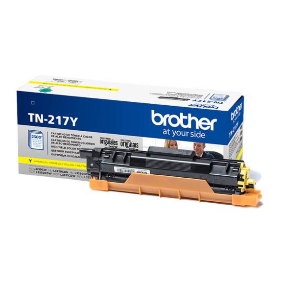 TONER BROTHER TN-217Y AMARELO