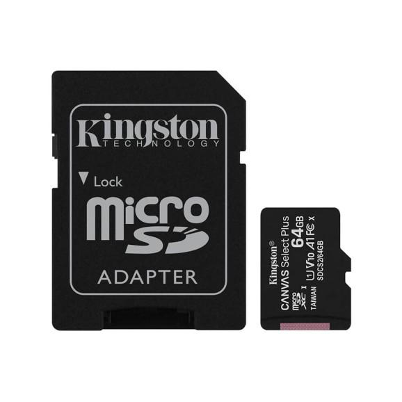 CARTÃO DE MEMÓRIA 64GB KINGSTON SDCS2-64GB