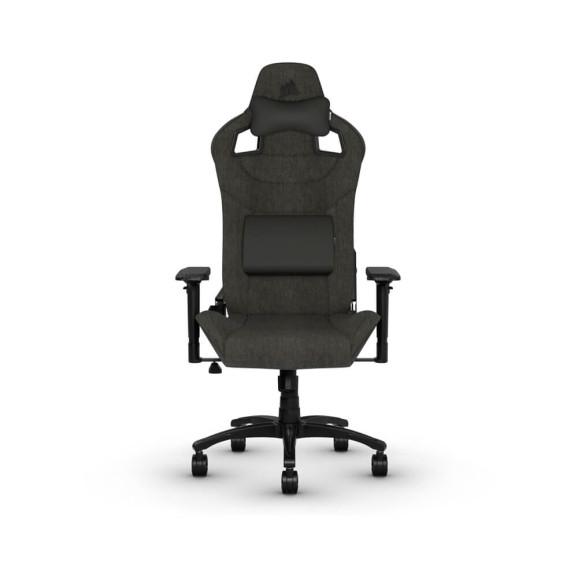 Cadeira gamer Corsair T3 Rush acinzentada