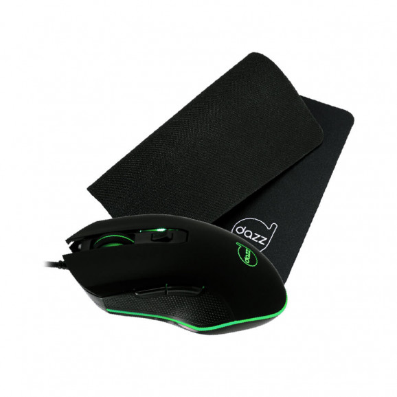Kit mouse e mouse pad Death Fire Gamer Dazz