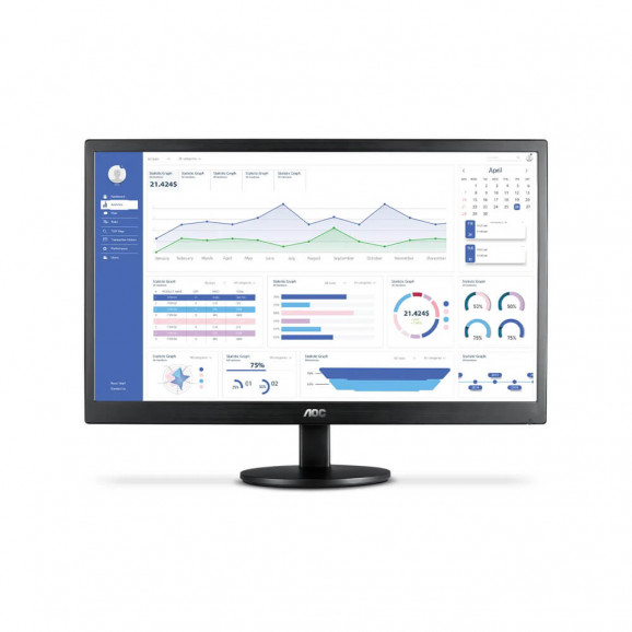 """Monitor AOC 23.6"""" LED full HD M2470SWH2"""
