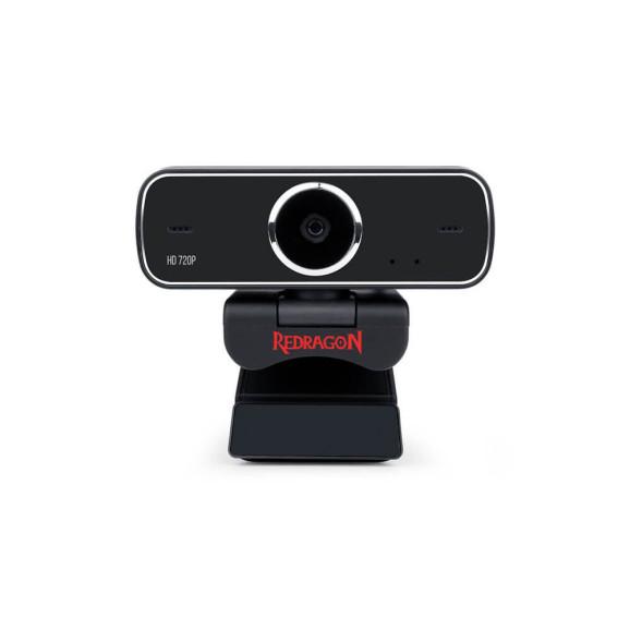 Webcam Streaming Fobos GW600 Redragon  Preta 720P HD