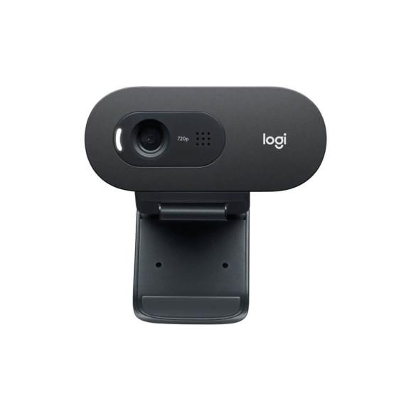 Webcam Logitech  C505e HD 720p preto