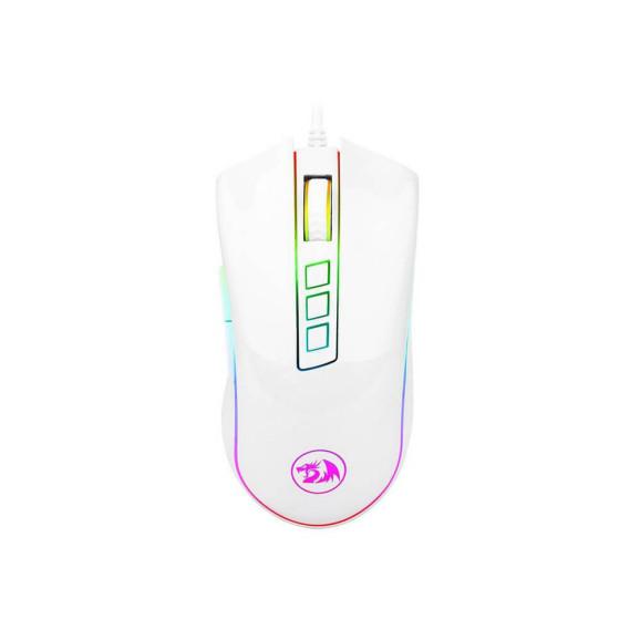 Mouse gamer Redragon Cobra Chroma Lunar White M711W RGB
