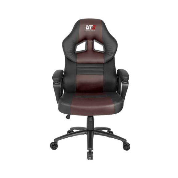 Cadeira gamer DT3sports GTS preto/marrom