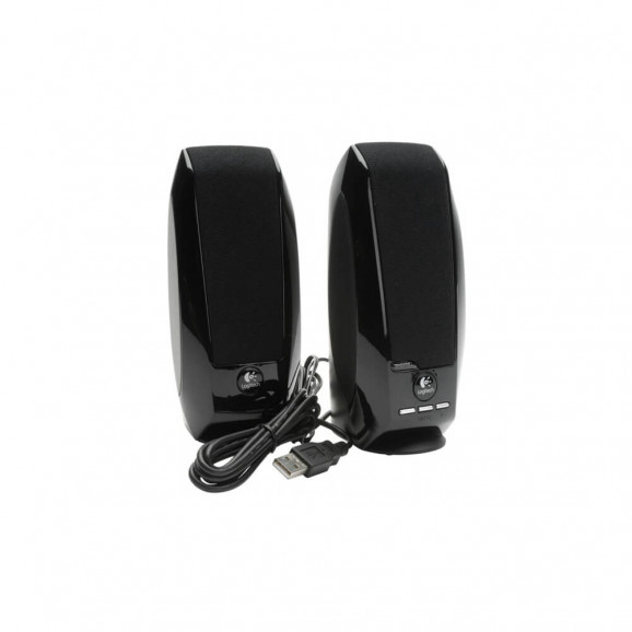 CAIXAS DE SOM LOGITECH S150 USB PRETA  - 980-001004