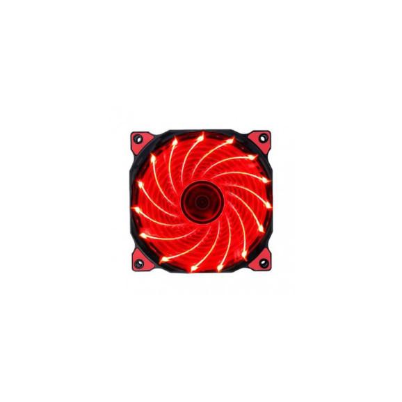 Cooler para gabinete Evolut gamer Polar Wind vermelho