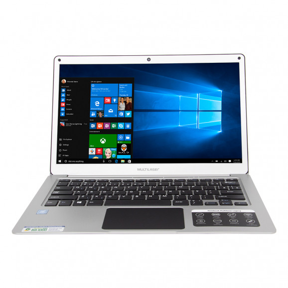 Notebook Multilaser Legacy Air Dual Core Prata – PC222