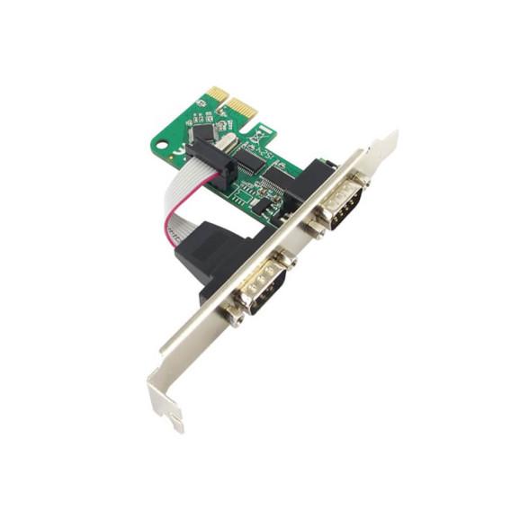 PLACA COMTAC PCI-EX X1 02 SERIAIS - 9346