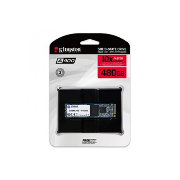 DRIVE SSD 480GB M.2 KINGSTON A400 2280 - SA400M8/480G