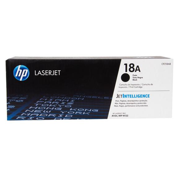 Toner HP CF218AB Laserjet Preto (18A)