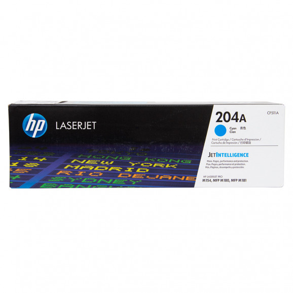 Toner HP CF510A Laserjet Ciano (204A)