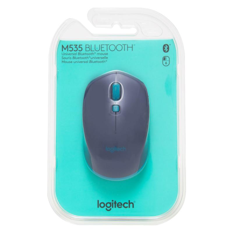 Mouse M535 Bluetooth Blue Logitech