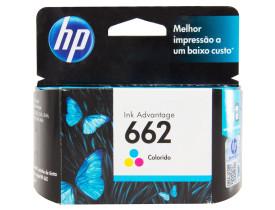 Cartucho de Tinta 662 Standard Colorido - HP
