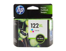 Cartucho de Tinta 122XL Colorido - HP