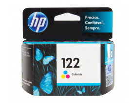 Cartucho de Tinta 122 Colorido CH562HB HP