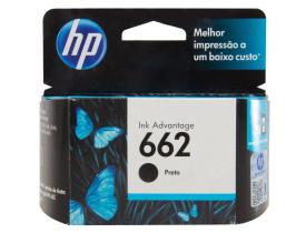 Cartucho de Tinta 662 Standard Preto - HP
