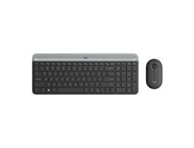 Kit teclado e mouse sem fio Logitech MK470 preto