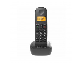 Telefone Intelbras sem fio TS2510ID Dect 6.0 preto