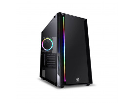 GABINETE FULL-TOWER PCYES CHROMA PRETO LED RGB - CHPTRGB1FCV - 33