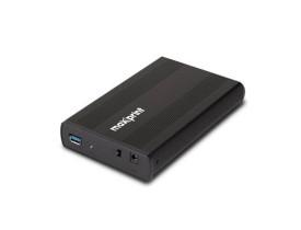 """GAVETA EXTERNA PARA HD 3.5"""" MAXPRINT  SATA USB 3.0 PRETO-60000020"""