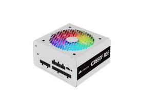 FONTE  550 WATS REAIS ATX CORSAIR WHITE CX550F RGB CP-9020225-BR