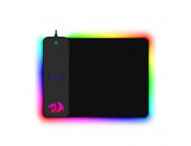 MOUSE PAD GAMER REDRAGON RGB CRATER -P028