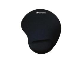 Mouse pad ergonômico  com apoio para pulso em gel Fortrek preto