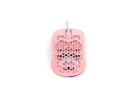 Mouse Vinik VX Gaming Void Led RGB 7600 DPI rosa
