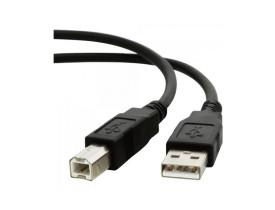 CABO DE IMPRESSORA USB 2.0 A MACHO X B 1,8 MTS