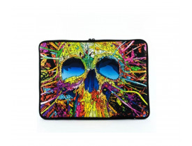 "CASE NOTEBOOK 14"" RELIZA NEOPREME COLOR SKULL 2-0507-535"