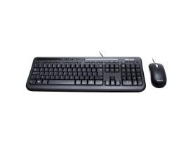 Kit Teclado e Mouse com Fio Wired 600 APB-00005 Microsoft