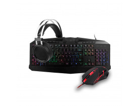 Kit teclado, mouse e headset Redragon S112