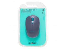 MOUSE M535 BLUETOOTH BLUE LOGITECH