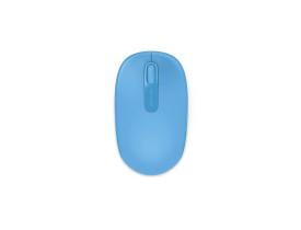 Mouse Microsoft 1850 sem fio azul claro