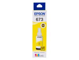 Refil de Tinta T673420 Amarelo Epson