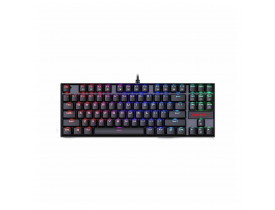 TECLADO MECANICO GAMER REDRAGON KUMARA K552 RBG SWITCH BLUE
