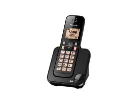 TELEFONE PANASONIC S/FIO KX-TGC350LBB  C/ID 1,9GHZ - PTO