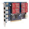 placa-wildcard-aex410-pci-express-4-portas-fxo